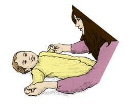 تمارين الذراعين لحديثي الولادة